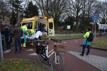 Meerdere fietsers ten val op zelfde plaats, Splinterlaan in Leiderdorp