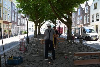 Beelden in Leiden 2018 opbouw (33)