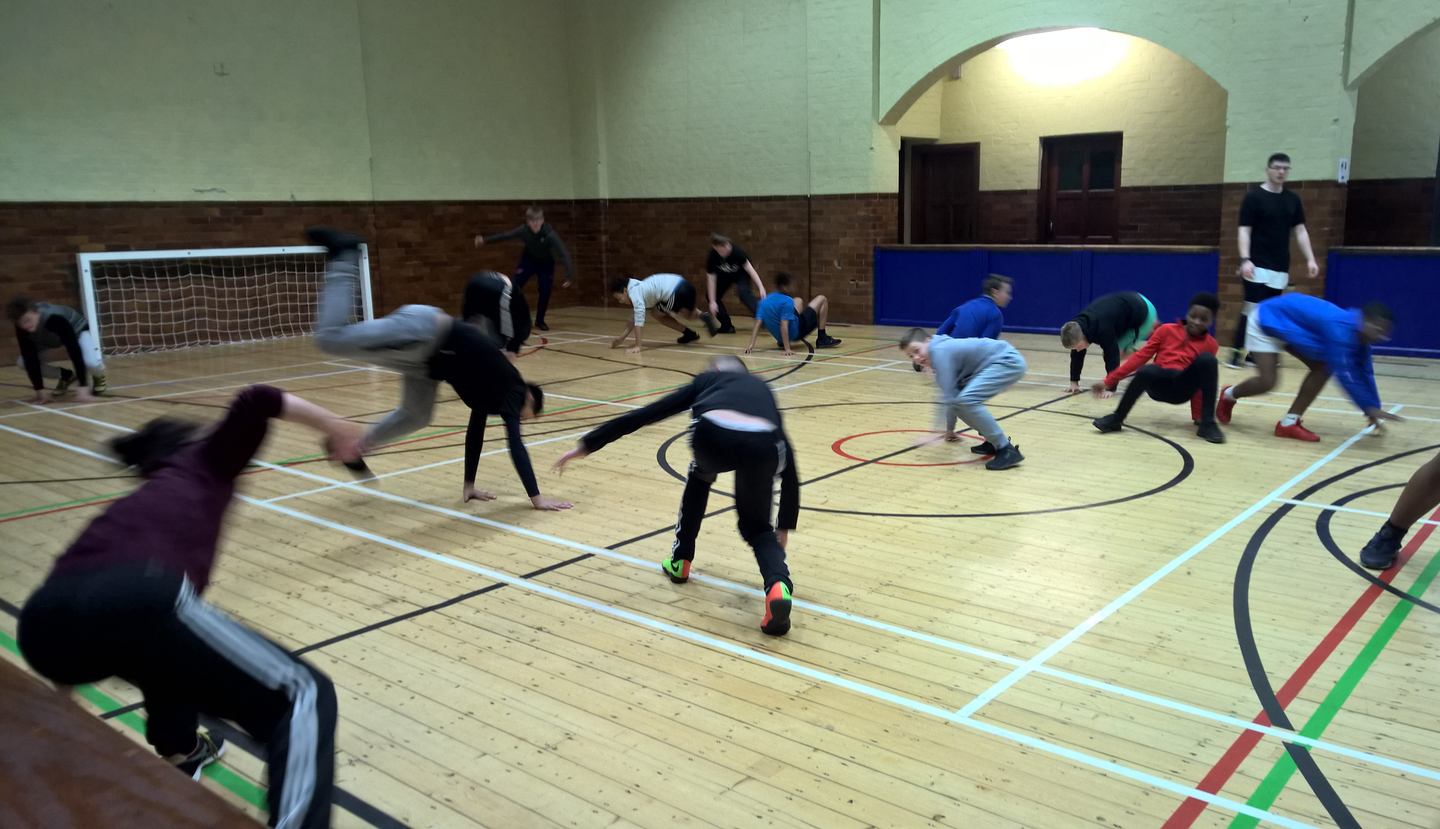 STRIDE – Boys Dance project at the club
