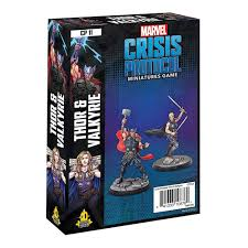 Marvel Crisis Protocol Miniatures Game Thor and Valkyrie Image