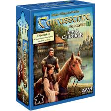 Carcassonne: Inns & Cathedrals Expansion Image