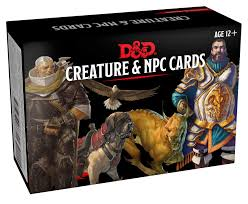 Dungeons and Dragons Creature and NPC Cards Image