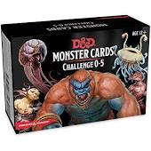 Dungeons and Dragons Monster Cards Challenge 0-5 Image