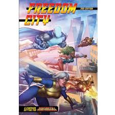 Mutants and Masterminds Freedom City Image