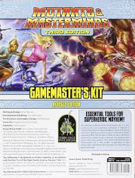 Mutants and Masterminds Game Master