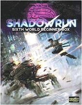 Shadowrun Sixth World Beginner Box Image