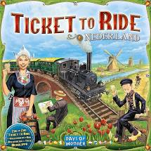 Ticket to Ride: Nederland Image