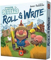 Imperial Settlers Roll and Write Image