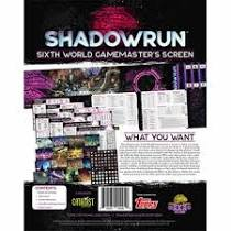 Shadowrun Sixth World Game Master
