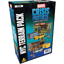 Marvel Crisis Protocol Miniatures Game NYC Terrain Pack Image