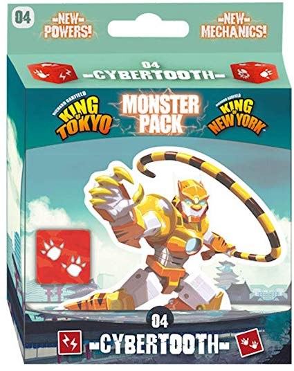 King of Tokyo Cybertooth Monster Pack Image
