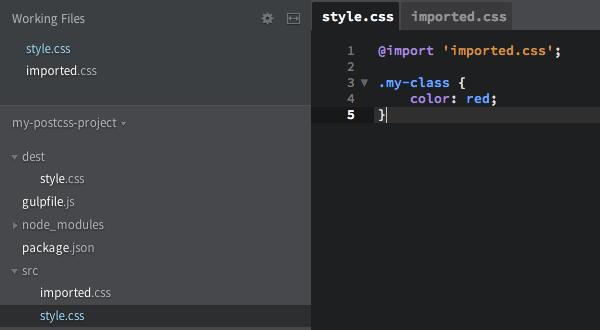 Main stylesheet - style.css