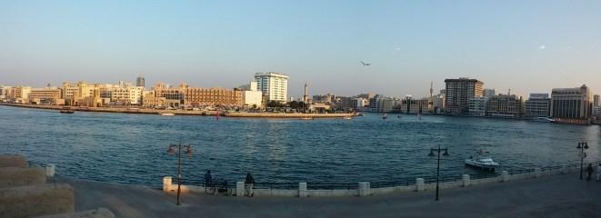 View of the Dubai Creek from Sheikh Saeed Al Maktoum House