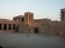 The sun sets on the Sheikh Saeed Al Maktoum House