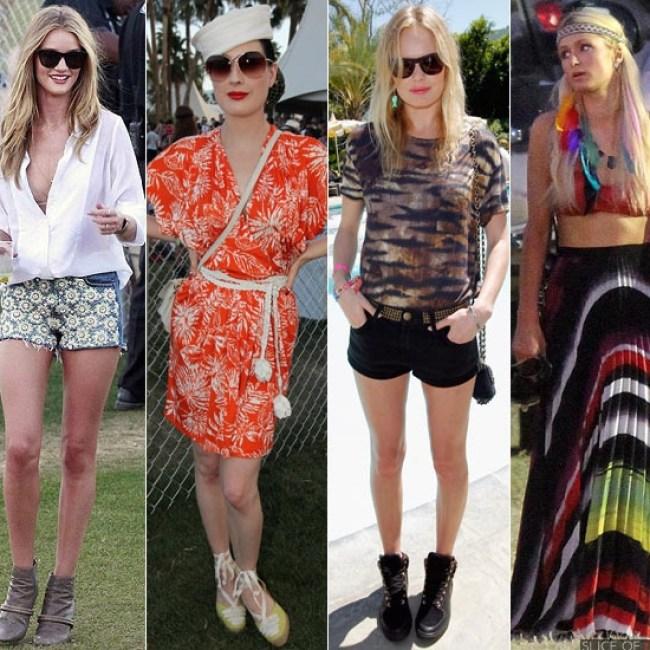 Coachella festival fashion