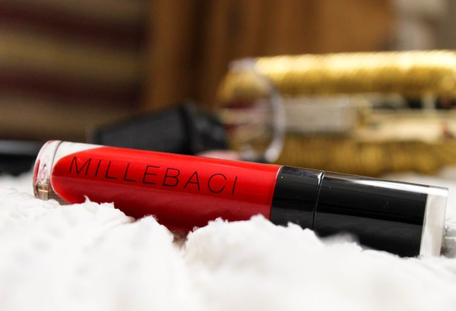 Millebaci Liquid lip color, No. 7