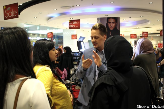 Isadora bronzing collection preview at Mirdif city center Dubai
