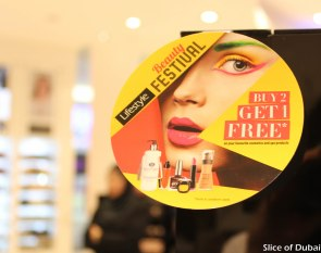 Buy 2 get one free at Lifestyle Beauty Festival