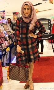 Heba at the Lifestyle Beauty Festival