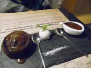 The Sticky Toffee Pudding from Bookmunch Cafe