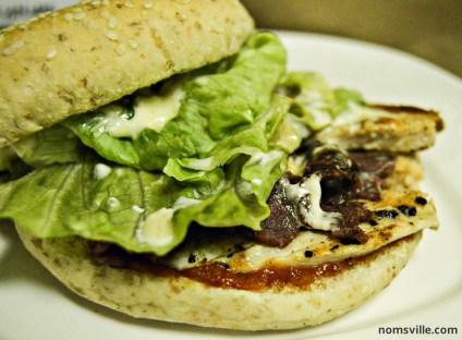 Burger at BurgerFuel