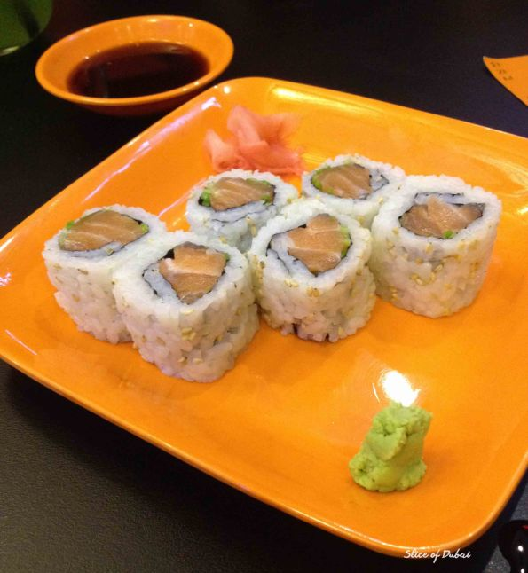 Salmon Teriyaki Sushi