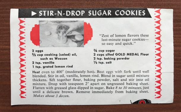 Stir-n-Drop Sugar Cookies - Slice of Honey Blog