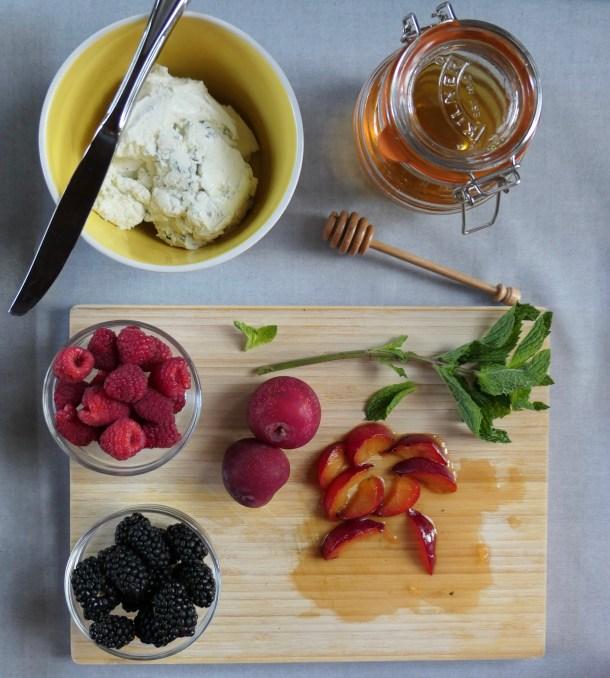 Fruit Bruschetta - Slice of Honey Blog