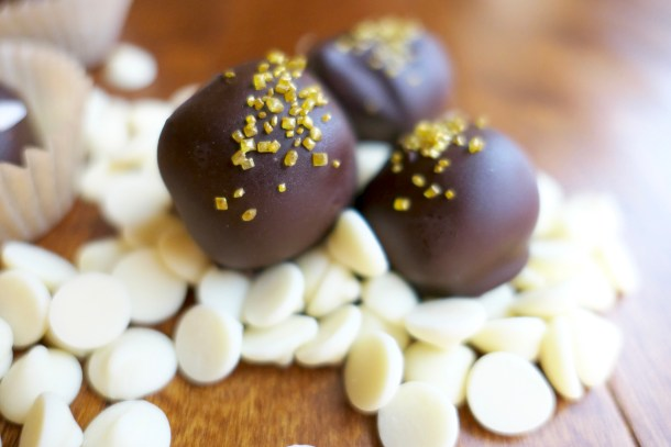 Boozy Truffles - Slice of Honey Blog