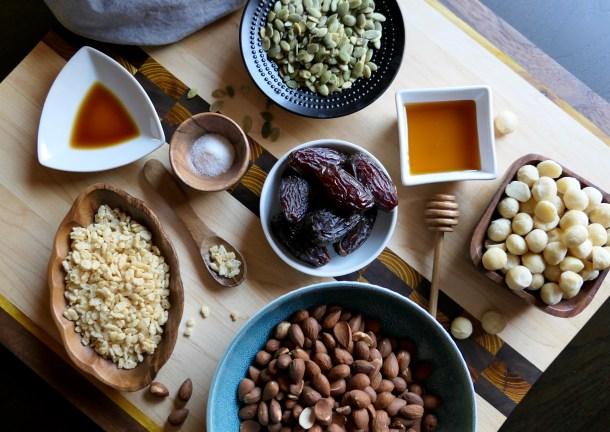 Honey Date Nut Bars - Slice Of Honey Blog