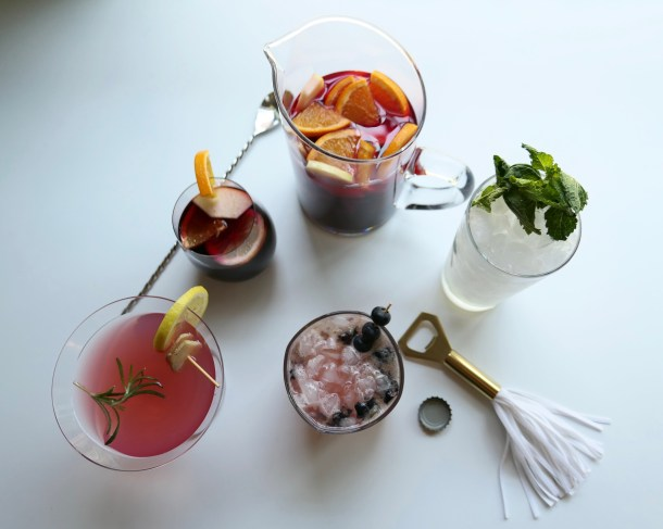 Flight Of Mocktails - Slice Of Honey Blog
