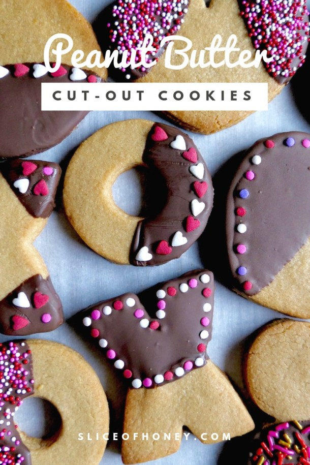Peanut Butter Cut-Out Cookies - Slice of Honey Blog