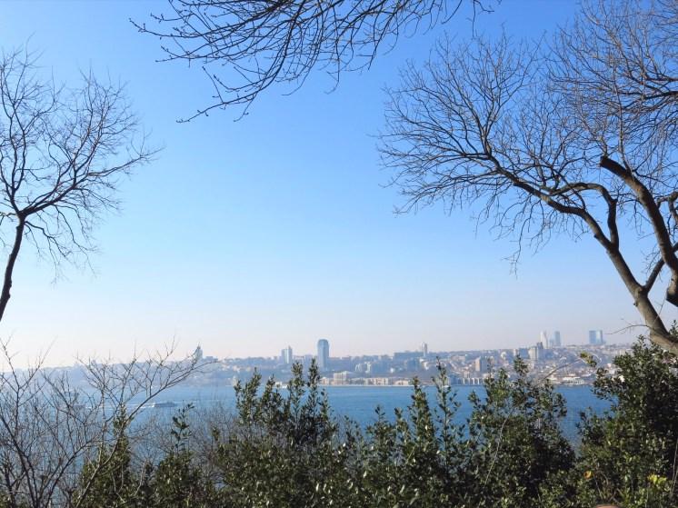 View from Fetihpaşa Korusu