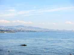 View from Fenerbahçe Parkı