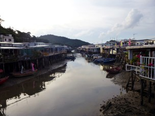 Tai O - the stilt village.