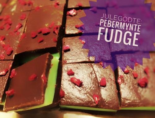 Pebermynte Chokolade Fudge