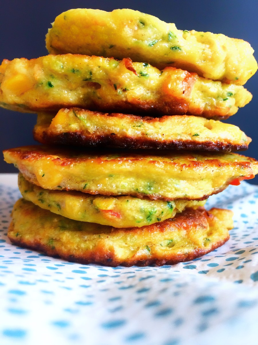 Sunde, glutenfri grøntsagspandekager
