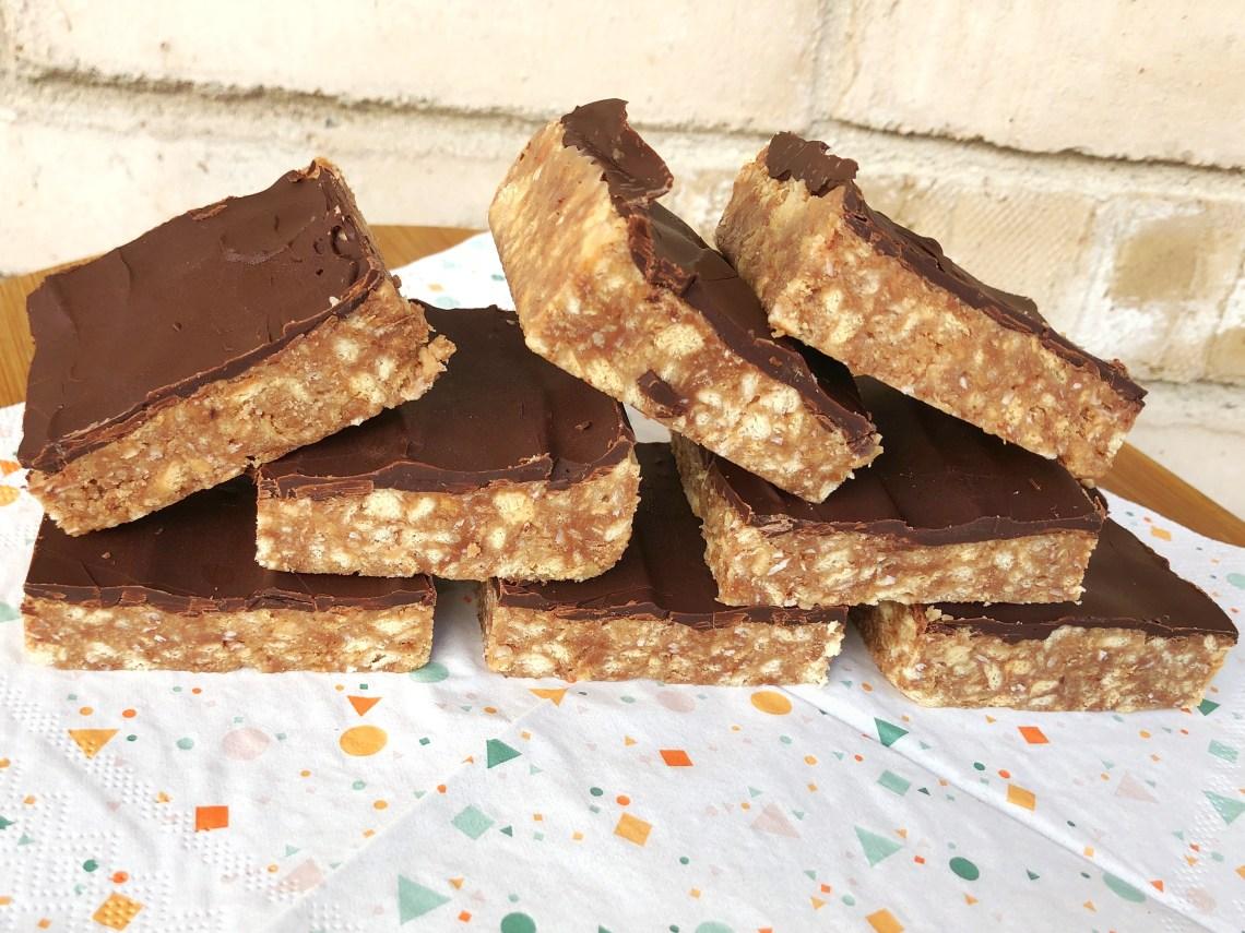 Karamel - chokolade kage, no-bake, hurtig at lave, nem