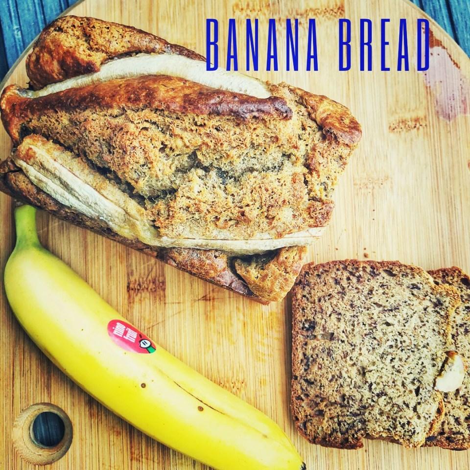 Sundt lækkert bananbrød