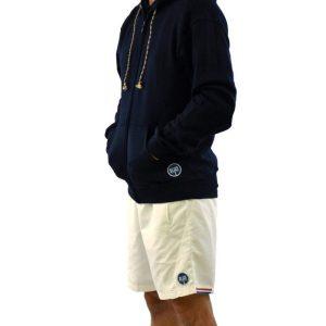 Casaco WEEK Homem Azul Marinho, Calção RASGO Branco