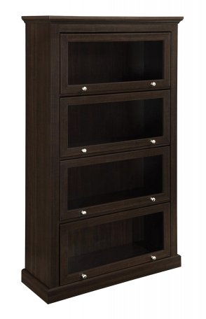 Altra Alton Alley 4 Shelf Barrister Bookcase, Espresso