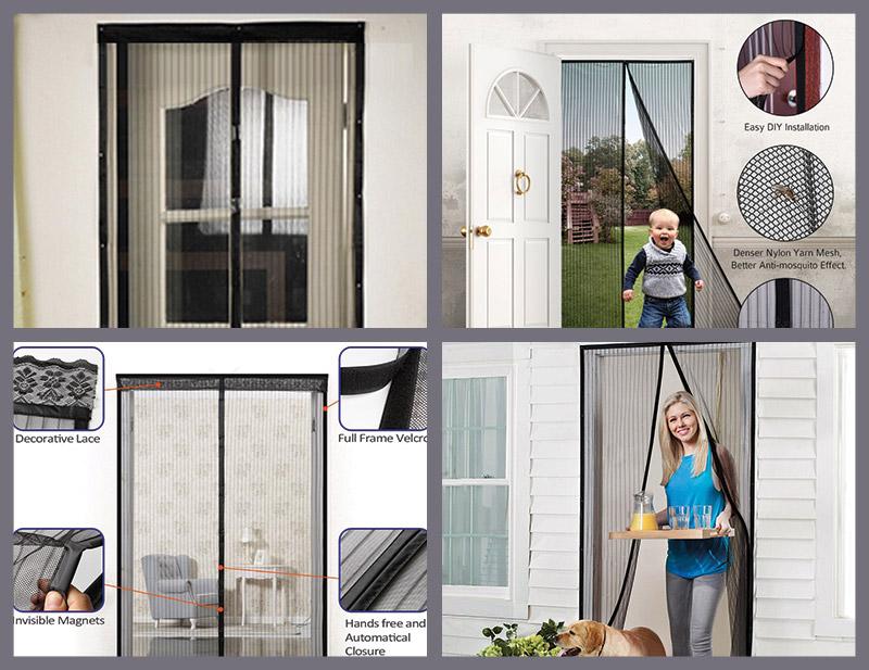 Walk Thru Screen Doors Hanging Screen Door Parts Down The Middle .