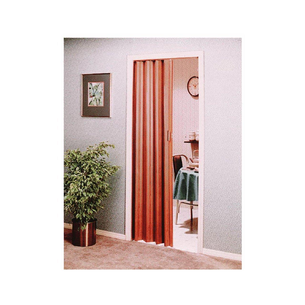 Spectrum EN3280FL Encore Accordion Door, 24 36 X 80 Inch, Reddish Brown Wood