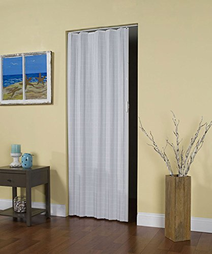 Spectrum HZ3280H Horizon Accordion Door, 32 x 80-Inch, Vinyl White