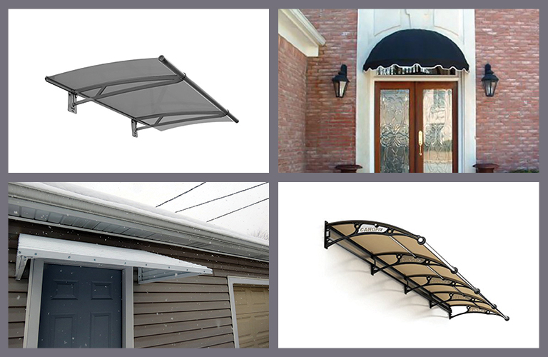 The-door-canopy & 5 Amazing Door Canopy Reviews to Make your Home Stunning [2018 ...