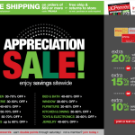 JCPenney-$10 off $10 Coupon Code plus FREE Shipping from site to store +10% back