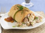 Chicken Salad Crescent Cannoli~Yummy