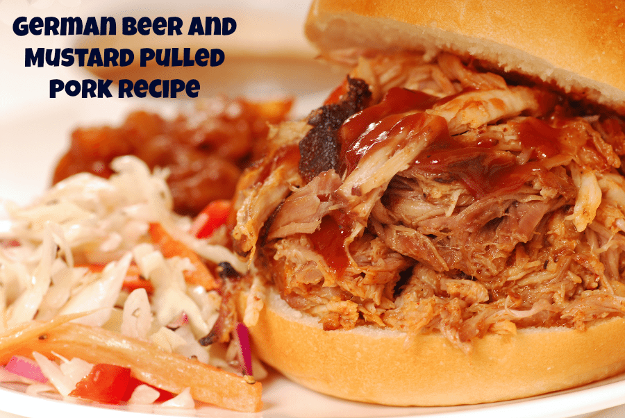 German Beer And Mustard Pulled Pork Recipe