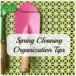 Organizing Tips: Part 1