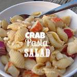 Crab Pasta Salad Recipe